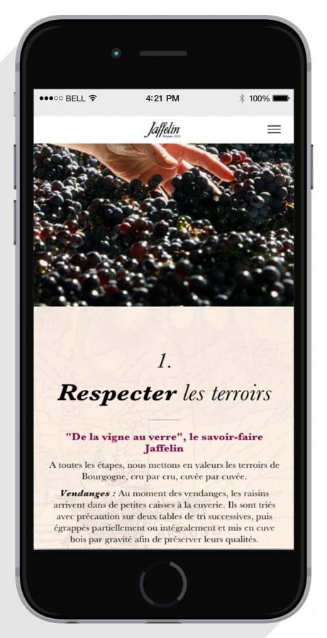 Smartphone-web-agency-wine-luxury-461x900