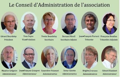 Le conseil d'administration en 2015