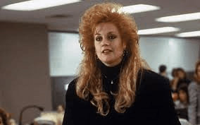 Melanie Griffith's 90s Hair in Working Girl
