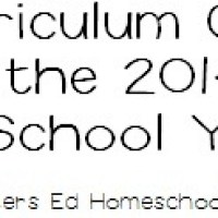 2014/2015 Curriculum ~ Our final decision