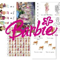 FREE:  Barbie Preschool and Totschool Pack {download link fixed}