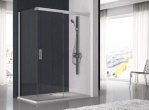 Mampara de ducha Modelo_500- DE CRISTAL