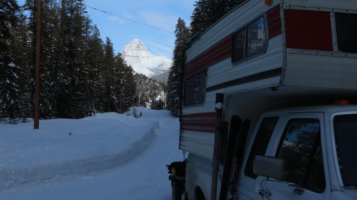 """Sunny"" at base camp/ is base camp"