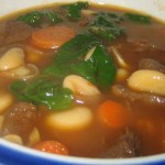 Venison Bean and Sausage Soup