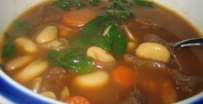 venison bean soup