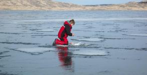 Fort Peck Ice Fishing