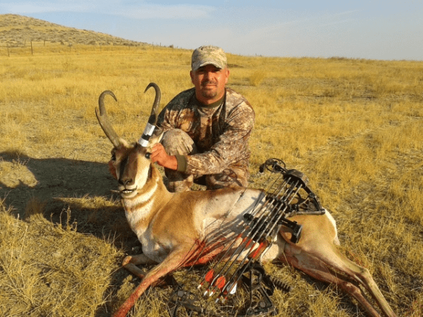 15&#8243; Montana Antelope Taken At 66 Yards With Bow