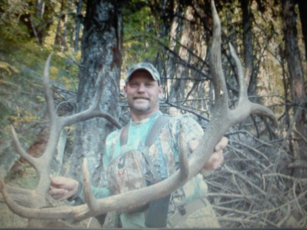 Shawn Plakke Punches His Elk Tag