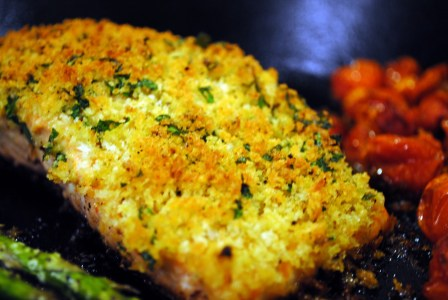 Panko & Herb Crusted Salmon