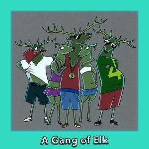 gang-elk