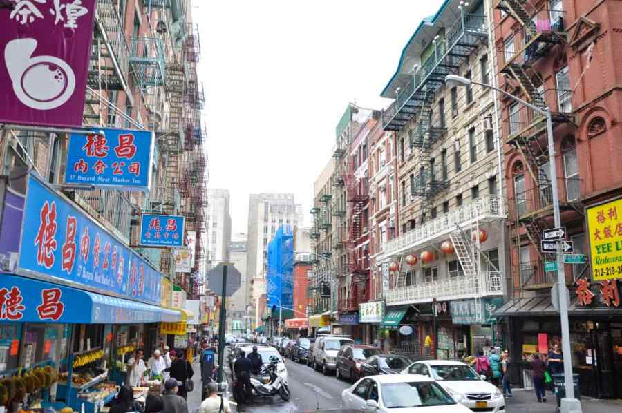New York - China Town - Manhattan - di Claudio Leoni