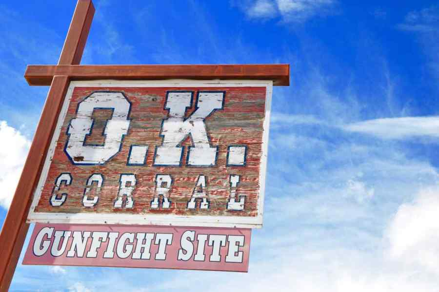O.K. Corral - Tombstone - Arizona - di Claudio Leoni