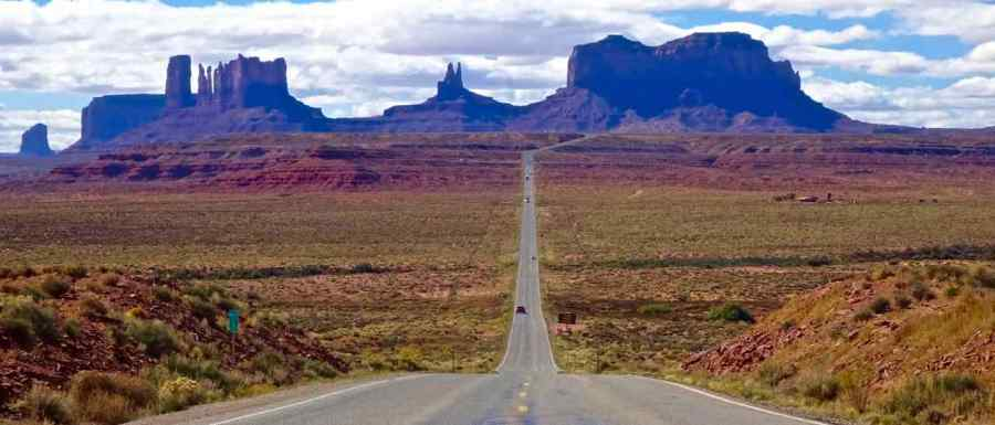 Road 163 - Monument Valley - Utha - di Claudio Leoni