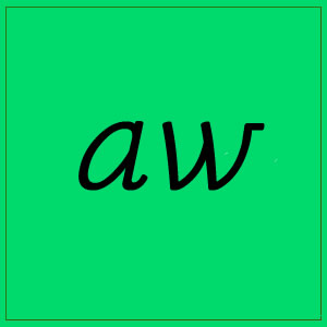 aw sound with letters