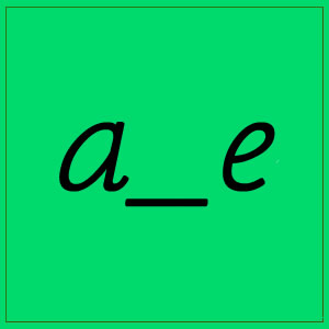a_e SOUND WITH LETTERS
