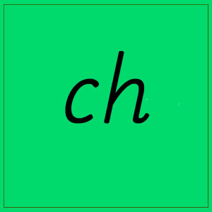 ch sound with letters