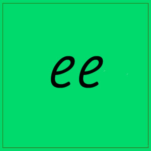 ee sound with letters