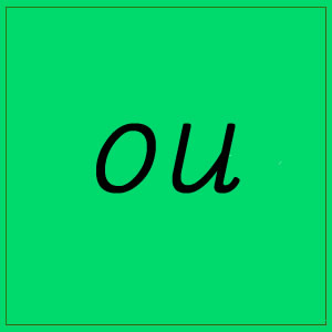 ou sound with letters