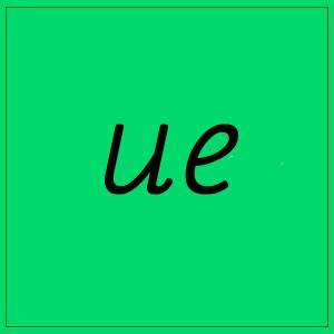 ue- sounds