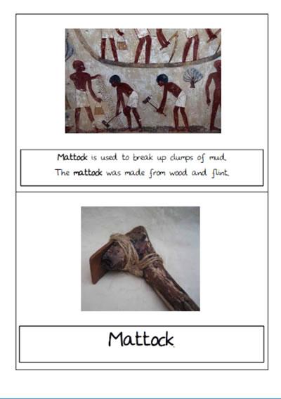 Ancient Egypt Farming tools