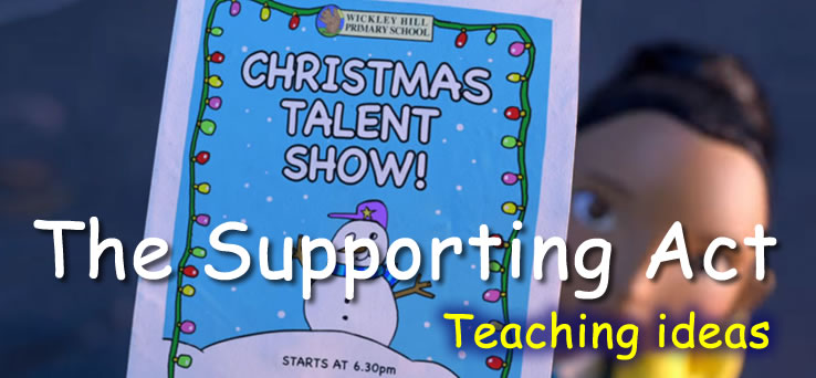 BBC The Supporting Act - Teaching ideas
