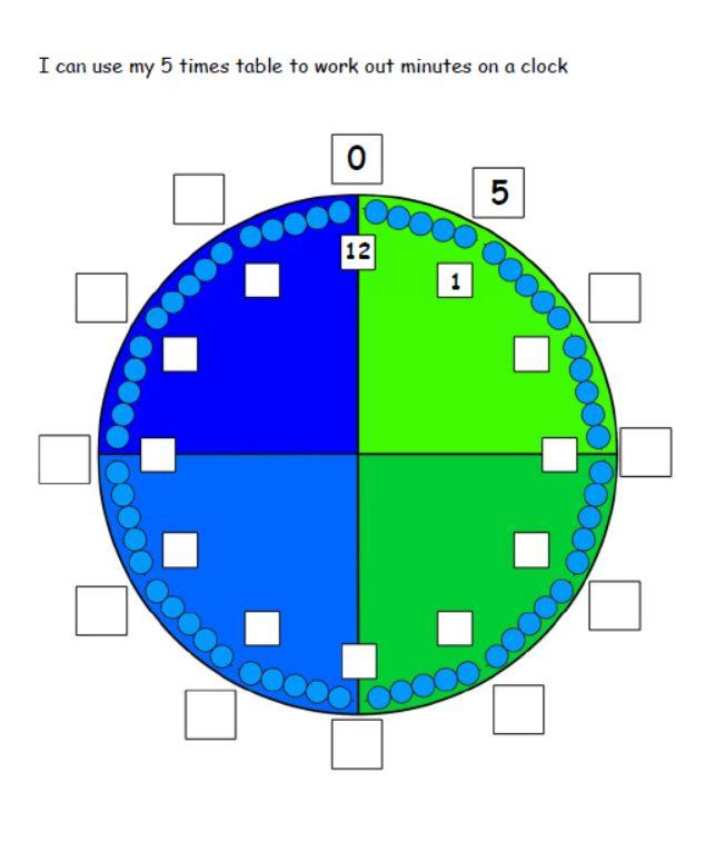 Complete the clock challenge