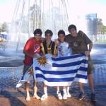 Joaquín -como alumno en 2004- es el segundo desde la izquierda