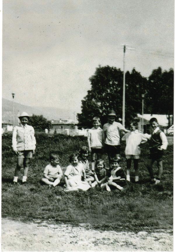 Bambini sul Fontanon