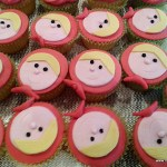 cupcakes roodkapje rolfondant themacupcakes