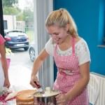 workshop vrijgezellen bruidstaart botercreme stapeltaart