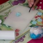 Workshop bruidstaart bloemen rolfondant maken versieren