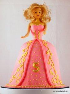 prinsessentaart doornroosje roos