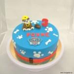 paw patrol fonne hondjes taart