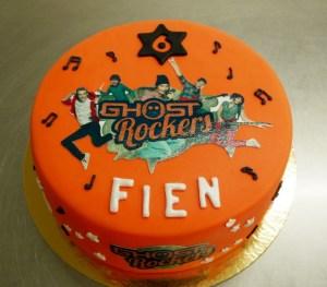 Ghostrockers taart