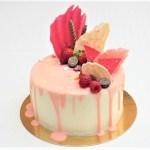 dripcake roze workshop tutorial chocolade geel kempen