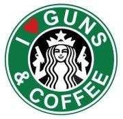 guns and starbucks