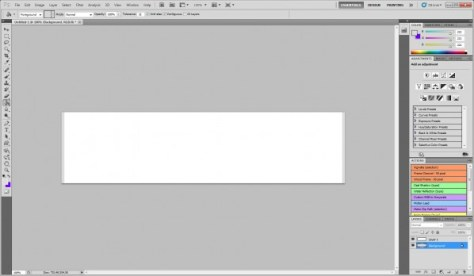 Your perfectly centered white box on a grey background
