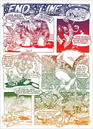 Alan Moore comic page