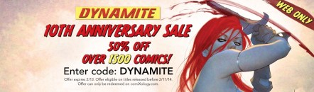 Dynamite ComiXology sale