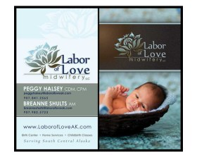 Labor of Love Business Cards