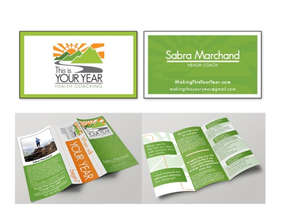 This is Your Year Business Cards & Brochure