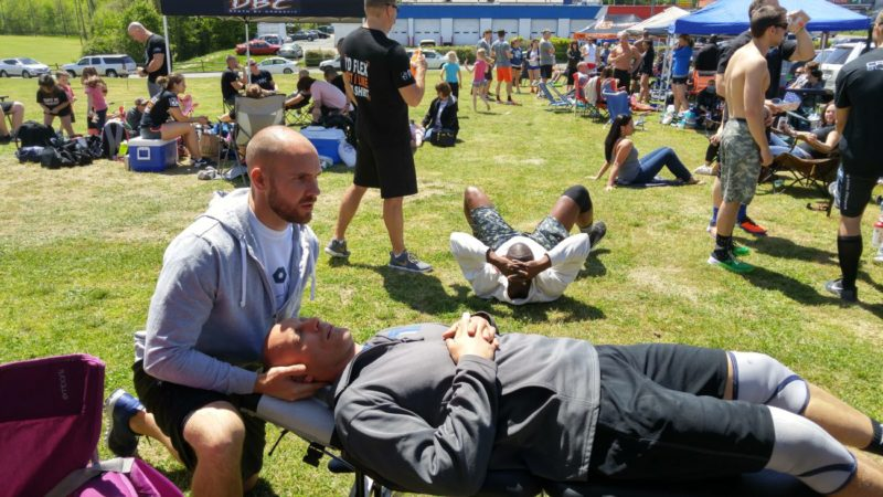 Mooresville chiropractor Battle of The Ages