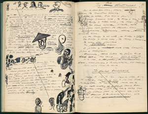 Samuel Beckett's Notebook