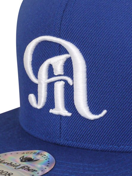Morbid Fiber Los Angeles Dodger Blue Snapback Hat