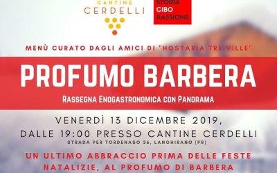 SERATA ALLE CANTINE CERDELLI VENERDI 13 DICEMBRE 2019
