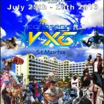 Caribserve 4G Video X Games St.Maarten 2013