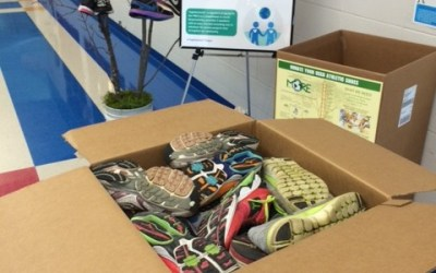 Heart of the Valley YMCA Sends MORE Shoes