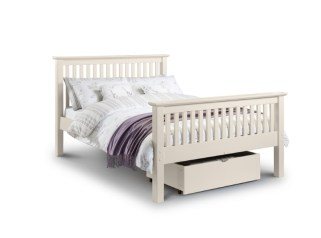 Barcelona bed (White) - More Than Beds, Bangor