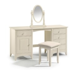 Cameo twin pedestal dressing table - More Than Beds, Bangor