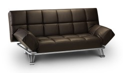 Manhattan sofa bed - brown - More Than Beds, Bangor